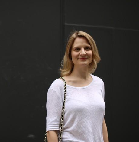 Sonia Eggerman, our design scout in Milan.
