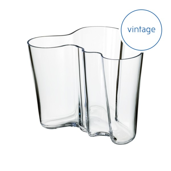 Alvar Aalto Collection vase 160 mm clear