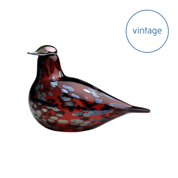Birds by Toikka Ruby bird 210 x 130 mm cranberry