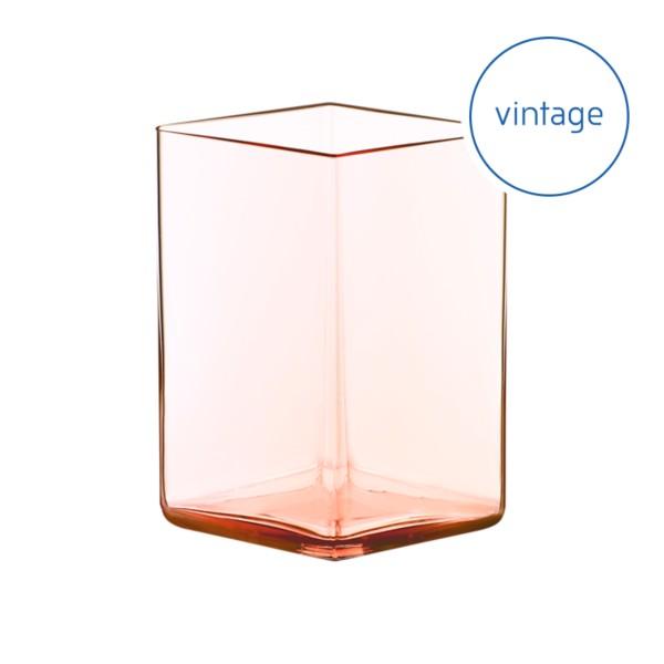 Ruutu vase 115 x 140 mm salmon pink