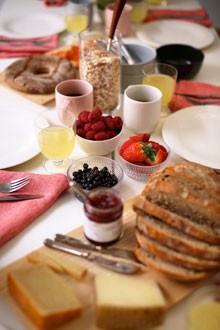 Breakfast of champions.