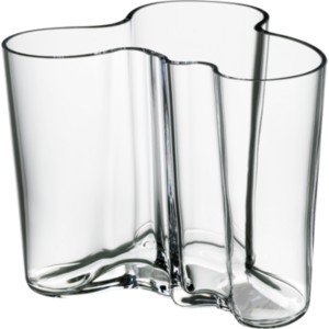 iittala alvar aalto collection vase 120 mm clear. Black Bedroom Furniture Sets. Home Design Ideas