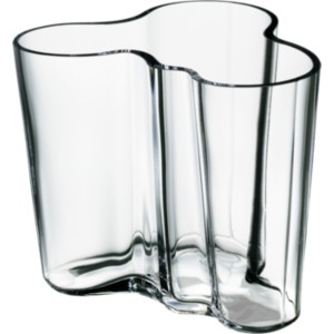 iittala alvar aalto collection vase 95 mm clear. Black Bedroom Furniture Sets. Home Design Ideas