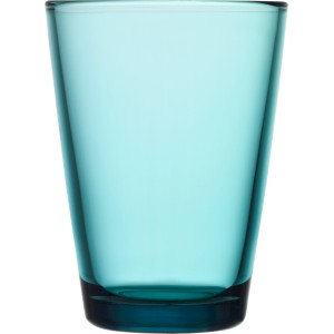 iittala kartio glass 40 cl seablue 2pcs. Black Bedroom Furniture Sets. Home Design Ideas